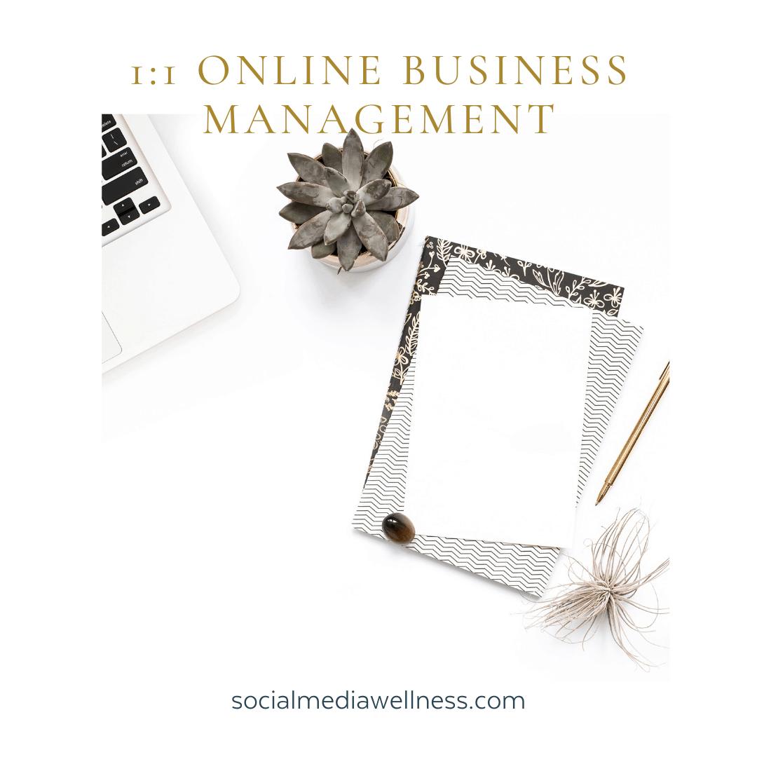 online business management
