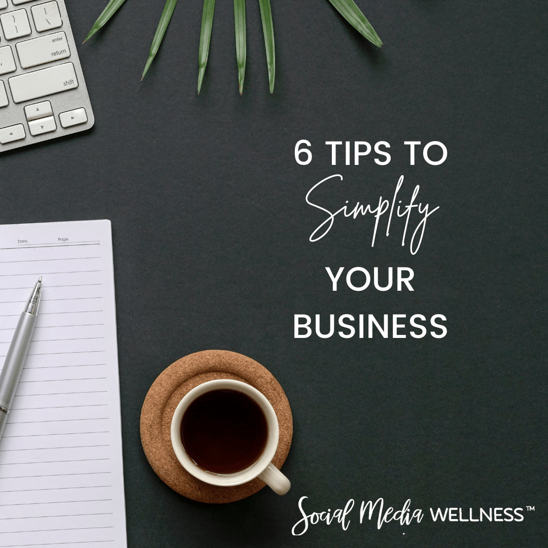 how to simplify your business